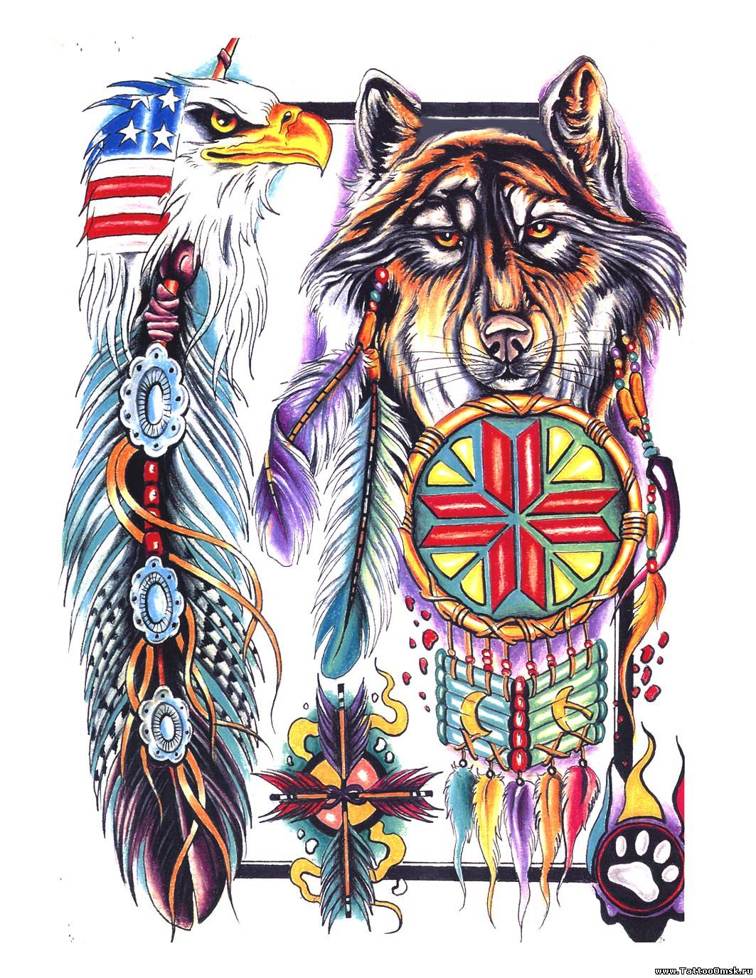 Татуировки индейцев северной америки с названиями 49