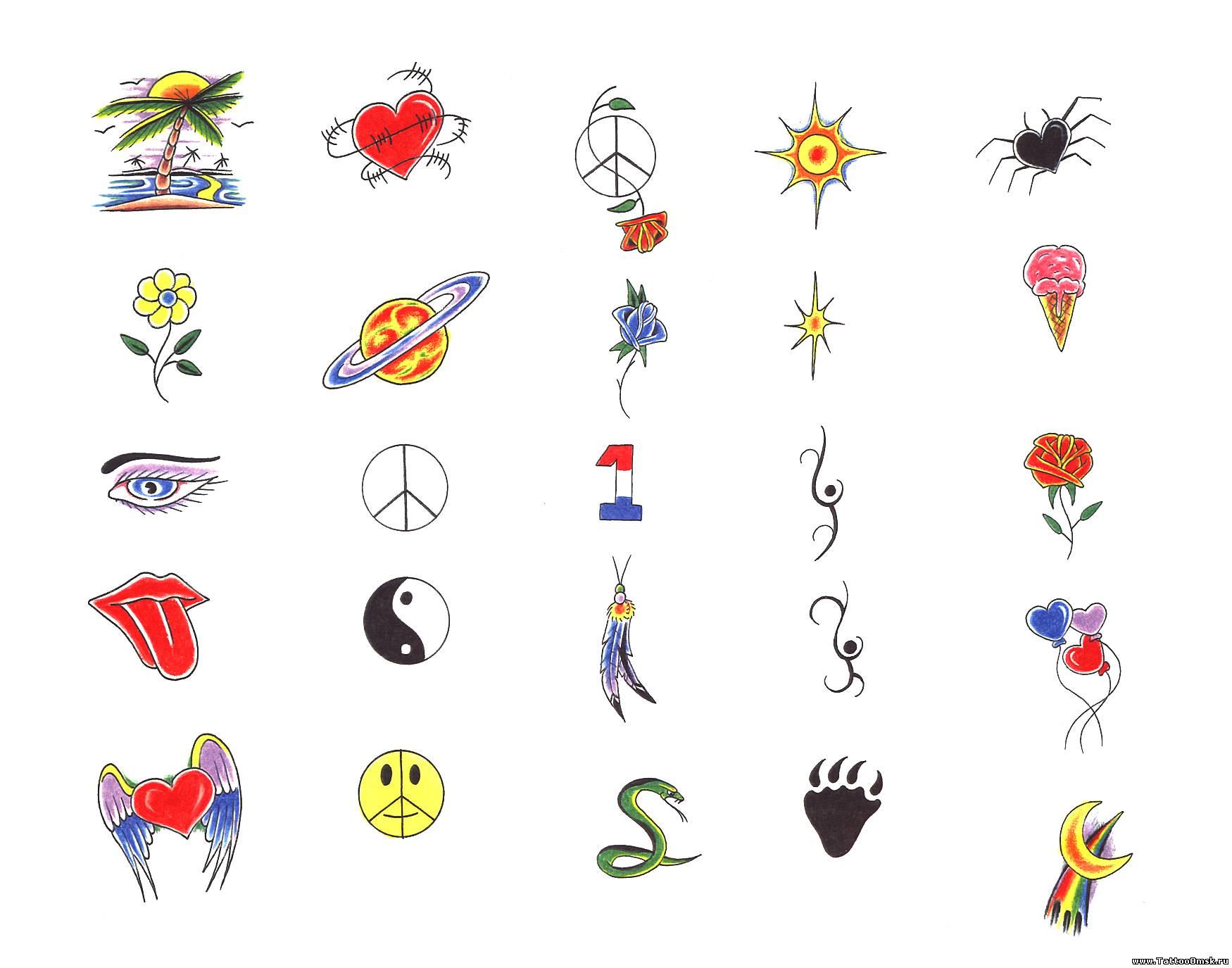 Рисунки для тату для мальчиков