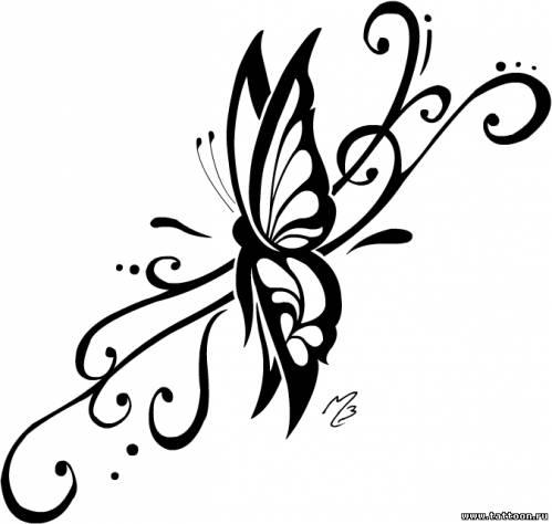 Бабочка — лёгкость грация эмблема